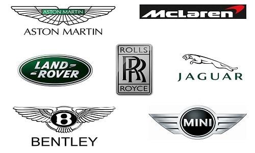 British Car Brands Logo