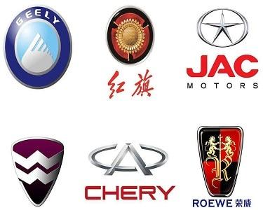 Chinese Car Brands Logo