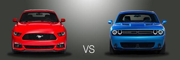 2015 Ford Mustang vs Dodge Challenger