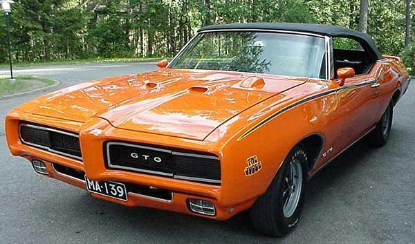 1960s Pontiac GTO