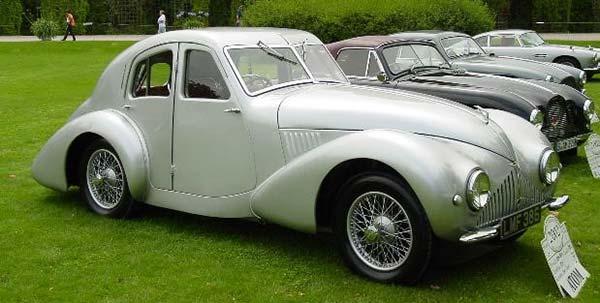 Aston Martin in 1930s
