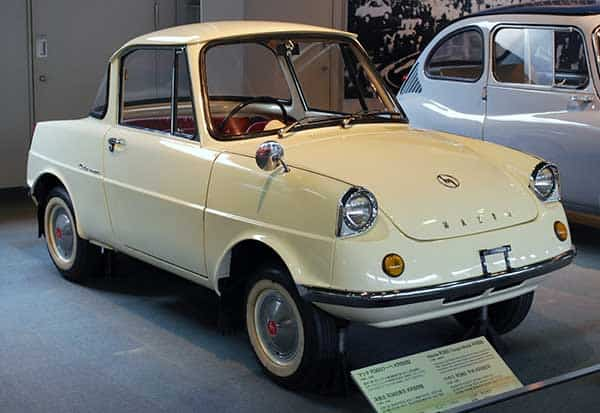 Mazda in the beginning