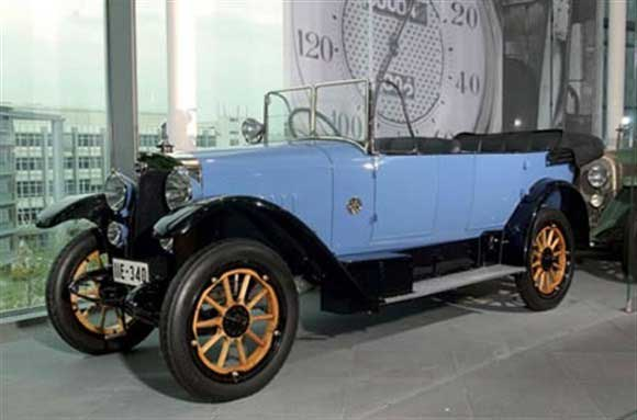 Beginning of the Audi history