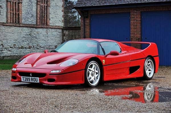 Ferrari in the 90s