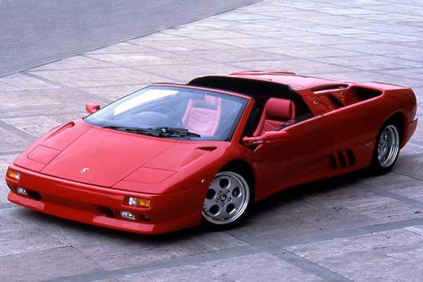 Lamborghini in the 80s