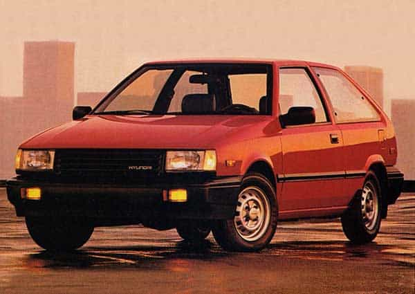 Hyundai in the 80s