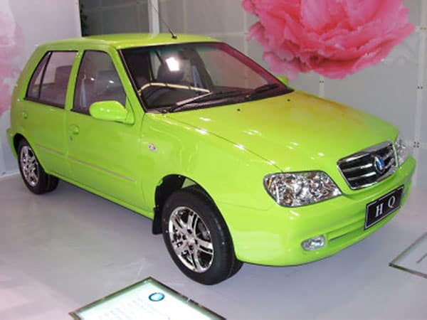 Beginning of the Geely history