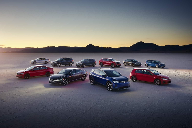 2021 Volkswagen Lineup